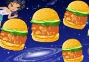เกมส์ทำแฮมเบอร์เกอร์อวกาศ