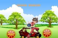 เกมส์ขับรถผจญภัยในป่า