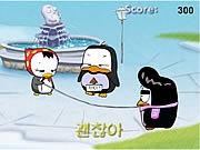 เกมส์นกเพนกวินกระโดดเชือก