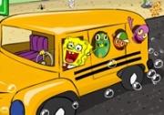 เกมส์สปองบ๊อบขับรถโรงเรียน